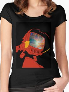 Psychedelic Canti Women's Fitted Scoop T-Shirt