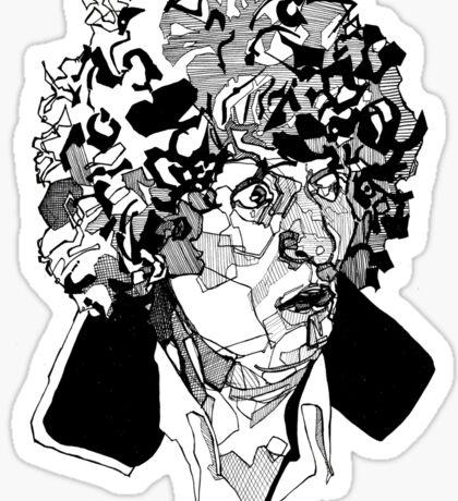 4th Doctor  Sticker