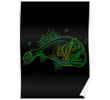 Abissal Fish Poster