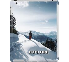 Explore Aletsch iPad Case/Skin