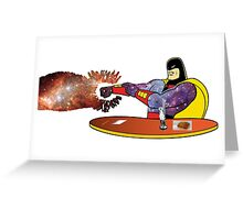 The Real Space Ghost Greeting Card