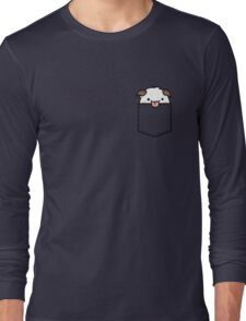 Cute Pocket Poro - League Of Legends Long Sleeve T-Shirt