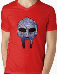Space DOOM Mens V-Neck T-Shirt