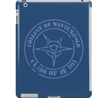 Grad Shirt iPad Case/Skin