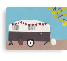 All ready to hitch up Canvas Print