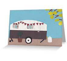 All ready to hitch up Greeting Card