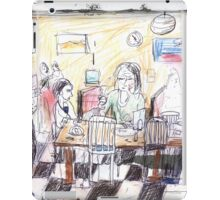 With Victor at the Foodstore Café, Hobart iPad Case/Skin