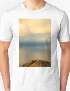 Clouds Viewing in the Ocean - Travel Photography Unisex T-Shirt