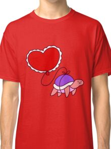 Heart Balloon Turtle Classic T-Shirt