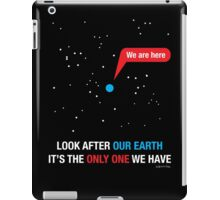 Look After Our Earth iPad Case/Skin