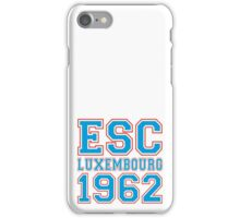 ESC Luxembourg 1962 [Eurovision] iPhone Case/Skin