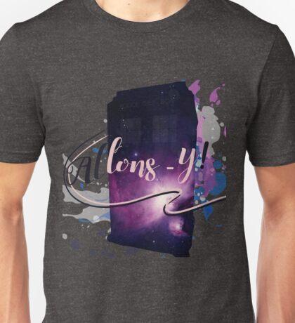 Tardis' Allons-y! Unisex T-Shirt