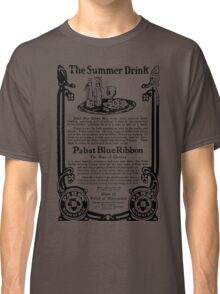 Old Ads - The Summer Drink, Pabst Blue Ribbon Classic T-Shirt