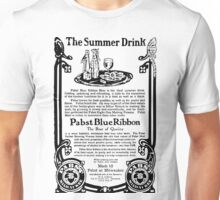 Old Ads - The Summer Drink, Pabst Blue Ribbon Unisex T-Shirt