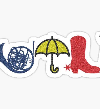 HIMYM Icon Design Sticker