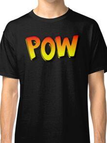 Pow - Comic Book Noise Classic T-Shirt