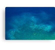 Ocean Depth - Travel Photography Canvas Print