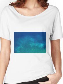 Ocean Depth - Travel Photography Women's Relaxed Fit T-Shirt
