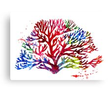 Colorful Coral1 Canvas Print