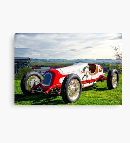 Vintage Indy Car Circa 1929 Canvas Print