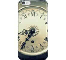 old wall clock iPhone Case/Skin