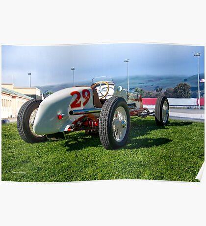 Vintage Indy Car Circa 1929 II Poster