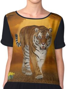 Tiger - After the Storm Chiffon Top