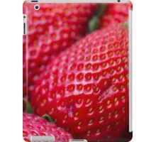 ripe strawberries iPad Case/Skin