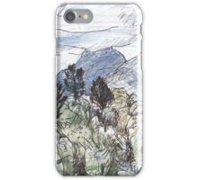 Mt Warning in Cloud iPhone Case/Skin