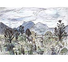 Mt Warning in Cloud Photographic Print
