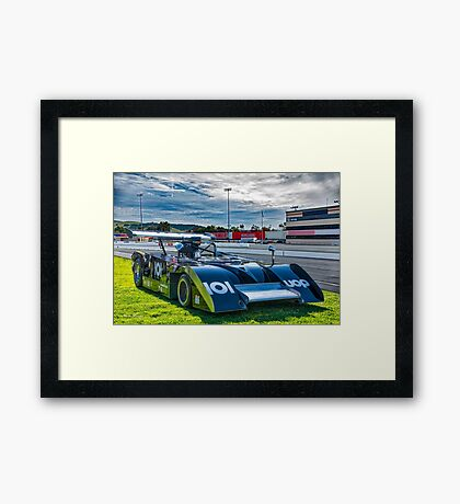 1974 Shadow DN4B Can Am Race Car MK III Framed Print