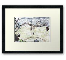 Tree Ridge Framed Print