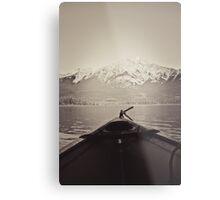 Paddle Away Metal Print