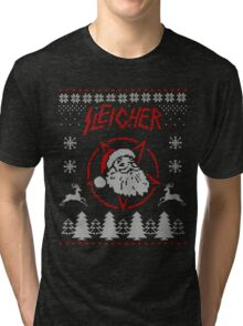 Sleigher Christmas Sweater Tri-blend T-Shirt