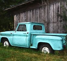 To Be Country - Vintage Truck Art by Jordan Blackstone