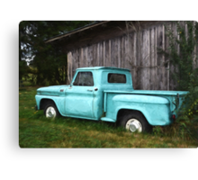 To Be Country - Vintage Truck Art Canvas Print
