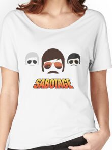 Beastie Boys - Sabotage Cartoon Women's Relaxed Fit T-Shirt