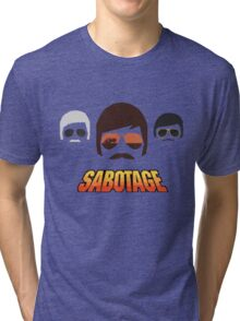 Beastie Boys - Sabotage Cartoon Tri-blend T-Shirt