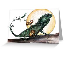 Croajingalong the dragon Greeting Card