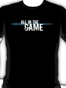 """All in the Game - """"The Wire"""" (white) T-Shirt"""
