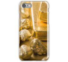 fine gold iPhone Case/Skin