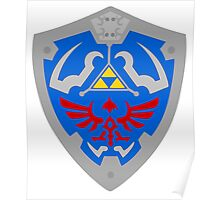 Legend Of Zelda -Hyrule Shield Poster