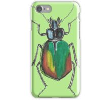 Insect drawing iPhone Case/Skin