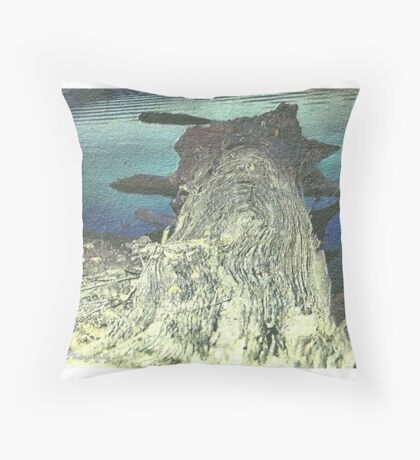 Natural Dock Throw Pillow