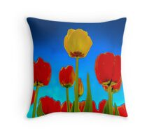 Dutch Tulips part 2 Throw Pillow