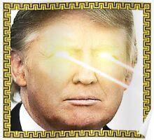 God Emperor Trump Portrait Poster