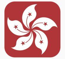 Hong Kong Flag Pattern Kids Clothes