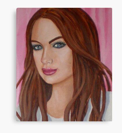 danielle's lip gloss Canvas Print