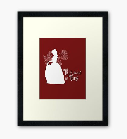 Tale as old as Time... Framed Print