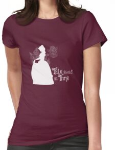 Tale as old as Time... Womens Fitted T-Shirt
